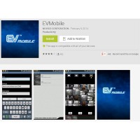 EV-MOBILE Mobile App for EV2 and HYDRA HD