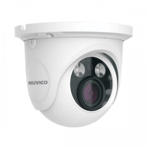 NCT-4M-E31AF Nuvico 3.3~12mm Motorized 30FPS @ 4MP Outdoor IR Day/Night WDR Eyeball IP Security Camera 12VDC/PoE