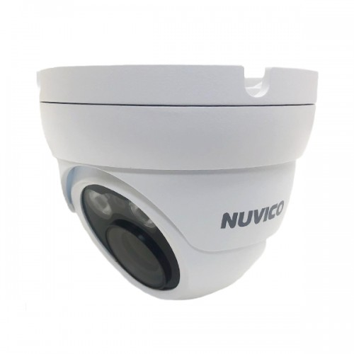 NCT-4M-E31AF Nuvico Xcel Series 3.3~12mm Motorized 30FPS @ 4MP Indoor/Outdoor IR Day/Night WDR Eyeball IP Security Camera 12VDC/PoE