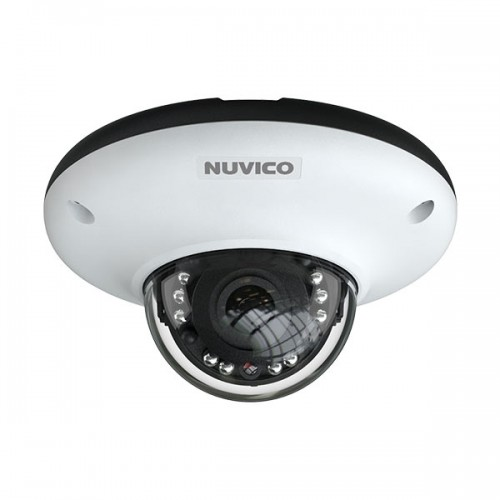 NCT-4M-MV2A Nuvico Xcel Series 2.8mm 30FPS @ 4MP Indoor/Outdoor IR Day/Night WDR Dome IP Security Camera 12VDC/PoE w/ Built-in Microphone