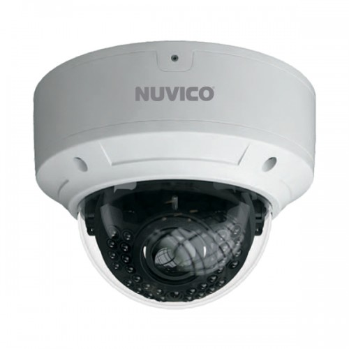 NCT-4M-OV31AF Nuvico Xcel Series 3.3~12mm Motorized 30FPS @ 4MP Outdoor IR Day/Night WDR Vandal Dome IP Security Camera 12VDC/PoE