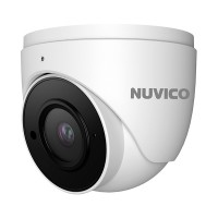 NCT-5ML-E2 Nuvico Xcel Series 2.8mm 20FPS @ 5MP Indoor/Outdoor IR Day/Night DWDR Eyeball IP Security Camera 12VDC/PoE - Built-in Microphone