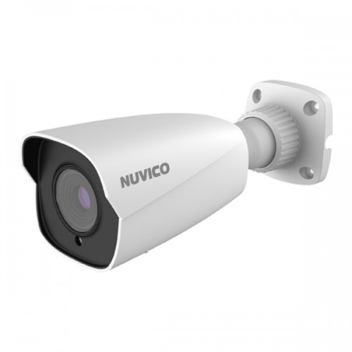 NCT-8ML-B21AF Nuvico Xcel Series 2.8~12mm Motorized 20FPS @ 8MP/4K Indoor/Outdoor IR Day/Night DWDR Bullet IP Security Camera 12VDC/PoE
