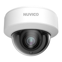 NCT-8ML-OV21AF Nuvico Xcel Series 2.8~12mm Motorized 20FPS @ 8MP/4K Indoor/Outdoor IR Day/Night DWDR Vandal Dome IP Security Camera 12VDC/PoE