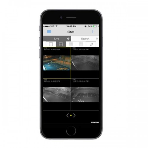 Nuvico Mobile App for EasyNet-HD Series IP Cameras and Recorders - iOS