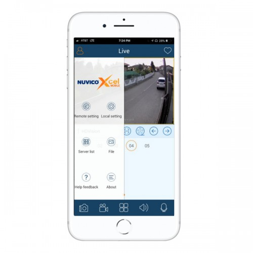 Nuvico Xcel Mobile for Nuvico Xcel IP Cameras and Recorders - iOS