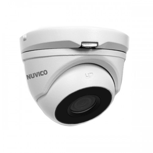 TCH-2M-E2 Nuvico 2.8mm 30FPS @ 1080p Indoor/Outdoor IR Day/Night WDR Eyeball HD-TVI Security Camera 12VDC