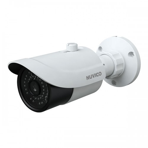 TCT-5M-B3 Nuvico Xcel Series 3.6mm 20FPS @ 5MP Outdoor IR Day/Night DWDR Bullet HD-TVI/HD-CVI/AHD/Analog Security Camera 12VDC