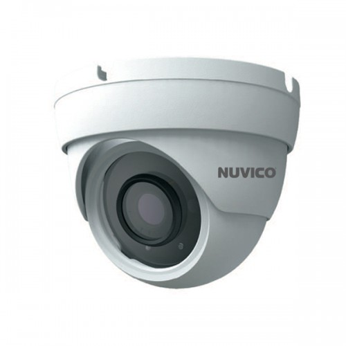 TCT-5M-E3 Nuvico Xcel Series 3.6mm 20FPS @ 5MP Outdoor IR Day/Night DWDR Eyeball HD-TVI/HD-CVI/AHD/Analog Security Camera 12VDC