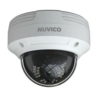 TCT-5M-OV3 Nuvico Xcel Series 3.6mm 20FPS @ 5MP Indoor/Outdoor IR Day/Night DWDR Vandal Dome HD-TVI/HD-CVI/AHD/Analog Security Camera 12VDC