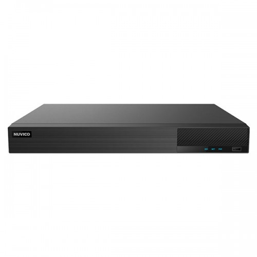 TD-PL800 Nuvico Xcel Series 8 Channel HD-TVI/HD-CVI/AHD/Analog + 4 Channel IP DVR 80FPS @ 5MP with Up to 20TB Max Storage
