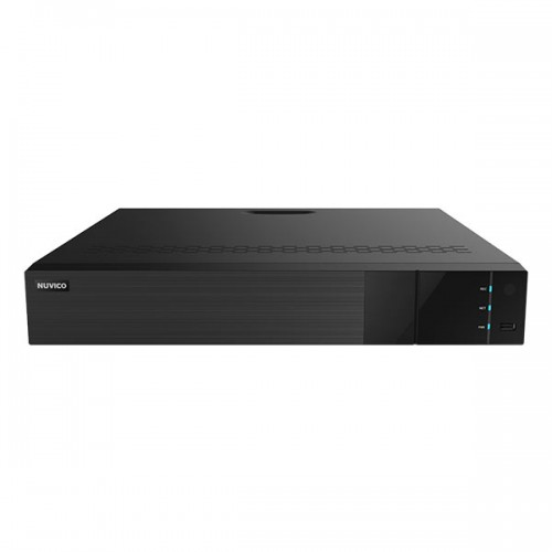TN-P3200AI-16P Nuvico Xcel Series 32 Channel NVR 256Mbps Max Throughput AI w/ Built-in 16 Port PoE with Up to 40TB Max Storage