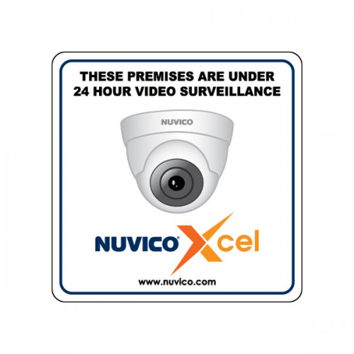 "XCL-4X4-VD Nuvico Xcel 4x4"" Indoor/Outdoor Window Decal"