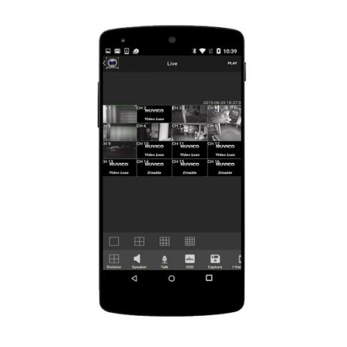 EasyNetHD2 Mobile App for EasyNet-HD Series IP Cameras and Recorders - Android
