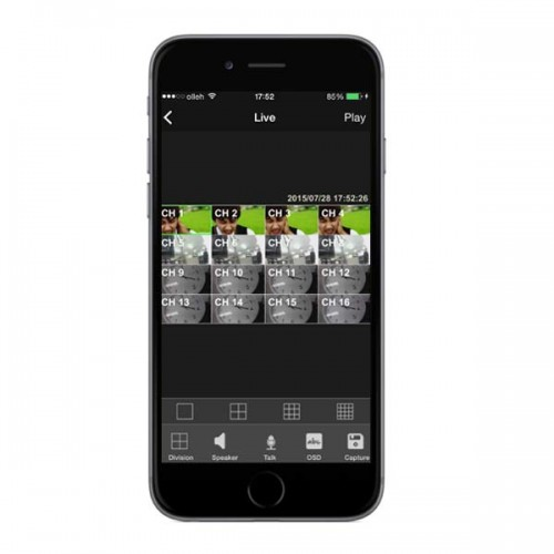 EasyNetHD2 Mobile App for EasyNet-HD Series IP Cameras and Recorders - iOS