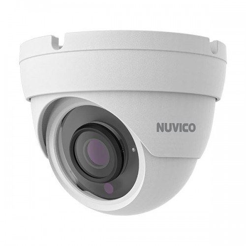 NCT-4M-E2 Nuvico Xcel Series 2.8mm 30FPS @ 4MP Indoor/Outdoor IR Day/Night WDR Eyeball IP Security Camera 12VDC/PoE