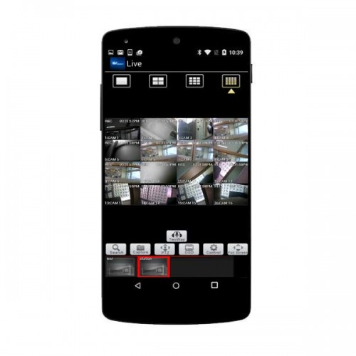 Nuvico EV Mobile App for EV2 and Hydra HD Series Recorders - Android