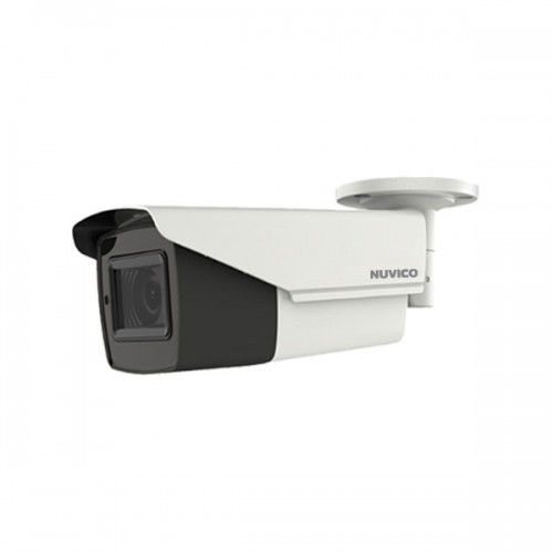 TCH-5M-BL21 Nuvico 2.7~13.5mm Motorized 20FPS @ 5MP Indoor/Outdoor IR Day/Night Bullet HD-TVI/HD-CVI/AHD Security Camera 12VDC/24VAC