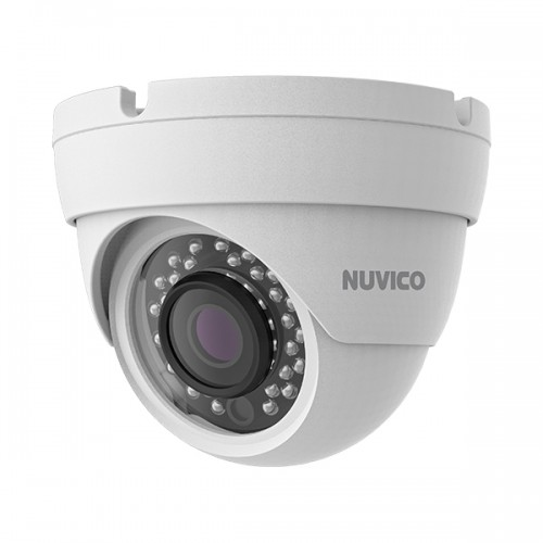 TCT-2M-E2 Nuvico Xcel Series 2.8mm 30FPS @ 1080p Indoor/Outdoor IR Day/Night DWDR Eyeball HD-TVI Security Camera 12VDC