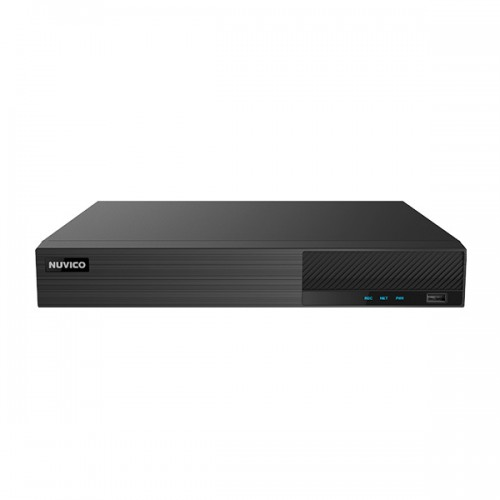 TN-P800-8P Nuvico Xcel Series 8 Channel NVR 50Mbps Max Throughput w/ Built-in 8 Port PoE with Up to 20TB Max Storage