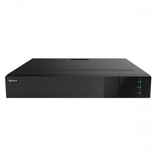 TD-P1600 Nuvico Xcel Series 16 Channel HD-TVI/HD-CVI/AHD/Analog + 4 Channel IP DVR 160FPS @ 5MP with Up to 72TB Max Storage